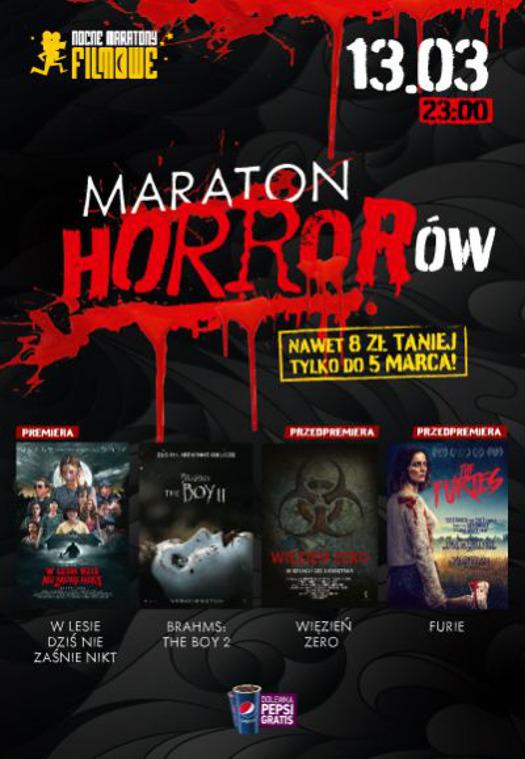 Maraton horrorów w kinach Helios