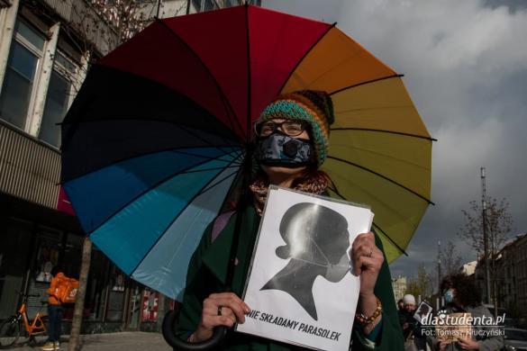 Protest Kobiet w Poznaniu