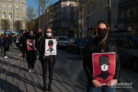 Protest Kobiet w Poznaniu - dzień 2