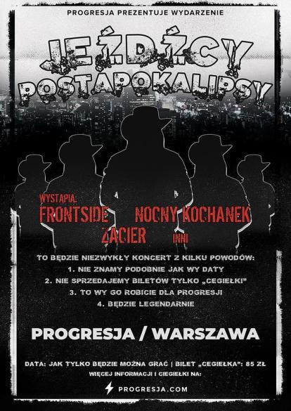 Frontside, Nocny Kochanek, Zacier