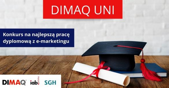 Konkurs DIMAQ UNI 2020 - zgłaszanie prac