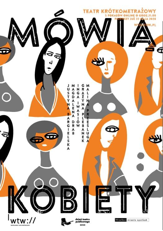 Mówią Kobiety - teatr krótkometrażowy w WTW