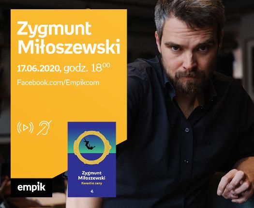 Zygmunt Miłoszewski - spotkanie autorskie