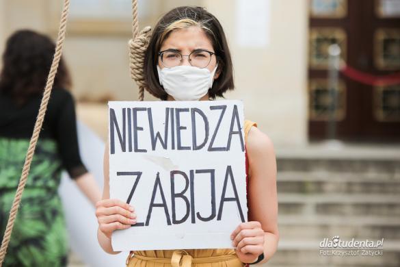 Protest Extinction Rebellion we Wrocławiu