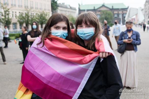 """Protest przeciwko """"Karcie Nienawiści"""" w Poznaniu"""