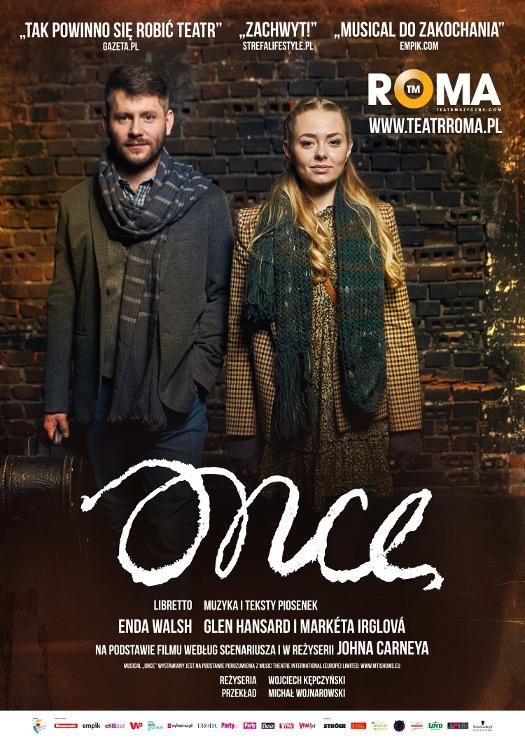 Once - spektakl w TM Roma