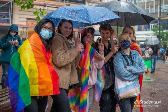 """Protest przeciwko """"Karcie Nienawiści"""" w Łodzi"""