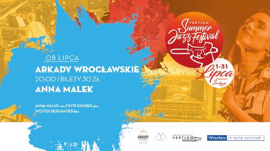 Anna Malek: Jazzowy koncert na dachu Arkad Wrocławskich
