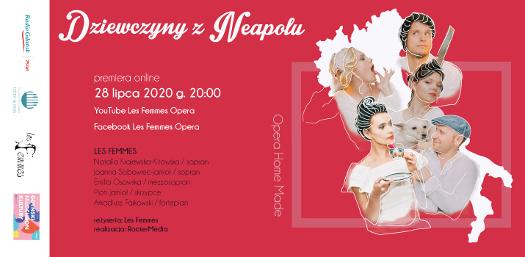 Dziewczyny z Neapolu - spektakl operowy on line