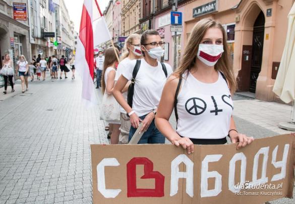 Tak dla Wolności! Nie dla Przemocy! - manifestacja w Poznaniu.