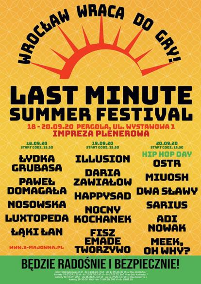 Last Minute Summer Festival - dzieńpierwszy