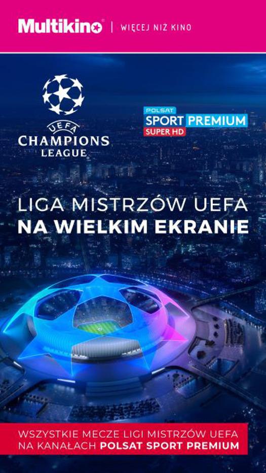 Finał Ligi Mistrzów UEFA w Multikinie