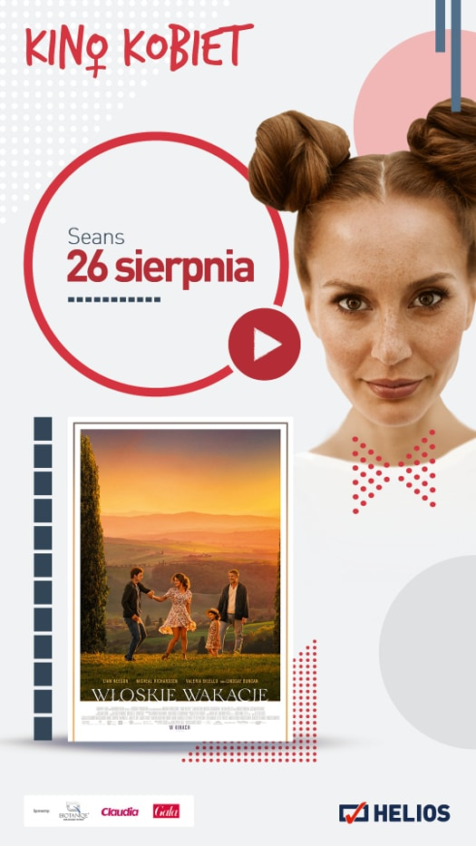 Kino Kobiet w Heliosie: Włoskie wakacje