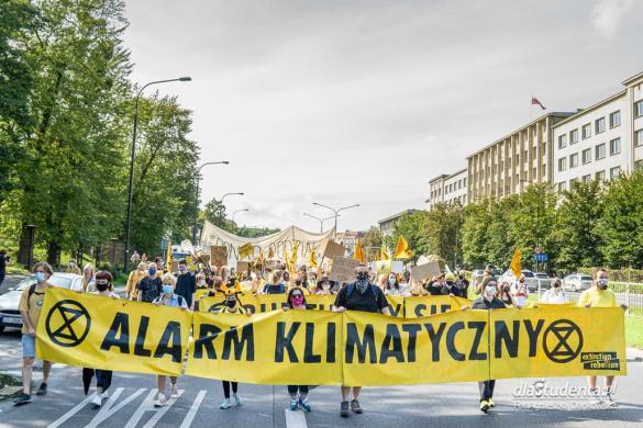 Wielki marsz dla klimatu w Warszawie