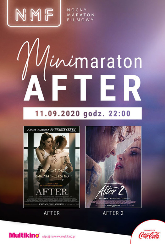 "NMF: Minimaraton ""After"" w Multikinie"