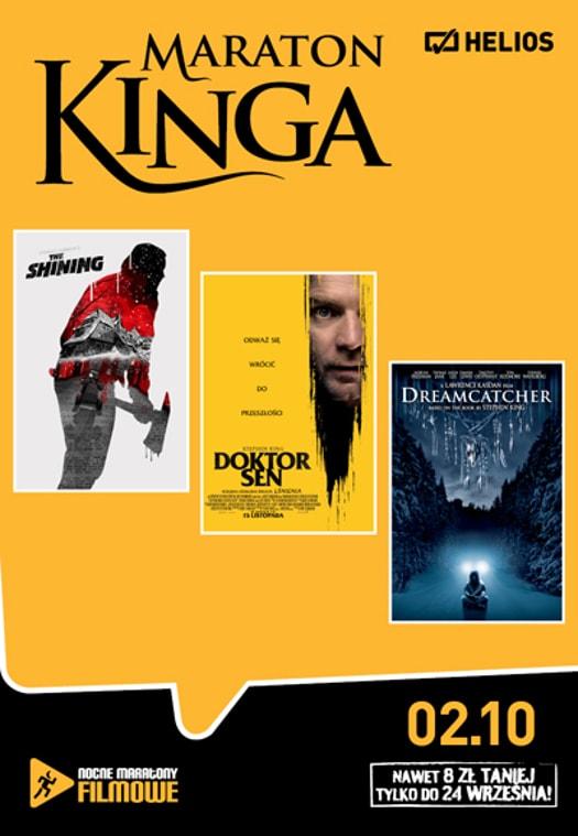 Maraton z ekranizacjami książek Stephena Kinga w Heliosie