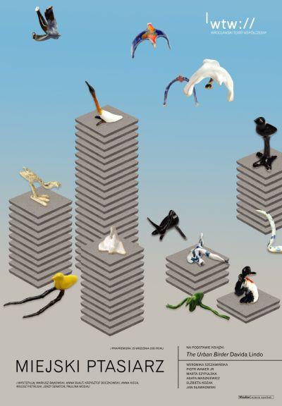 Miejski ptasiarz - próba prasowa