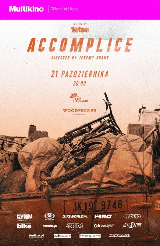 Polska premiera filmu rowerowego ACCOMPLICE w sieci Multikino