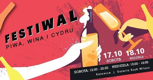 Festiwal Piwa Wina i Cydru w Katowicach