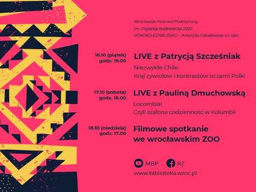 Wrocławski Festiwal Podróżniczy RÓWNOLEŻNIK ZERO