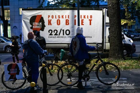 Ostra Jazda - protest samochodowy w Warszawie