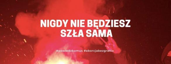 Spacerkiem po aborcję. Nigdy nie będziesz szła sama - manifestacja w Poznaniu