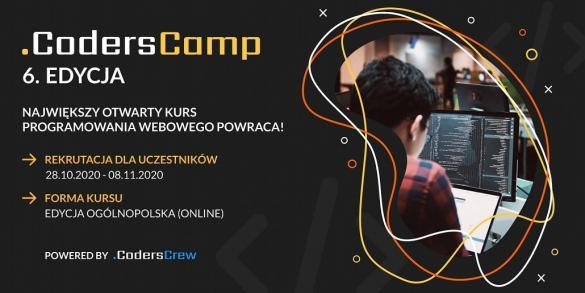 6. edycja CodersCamp - zapisy