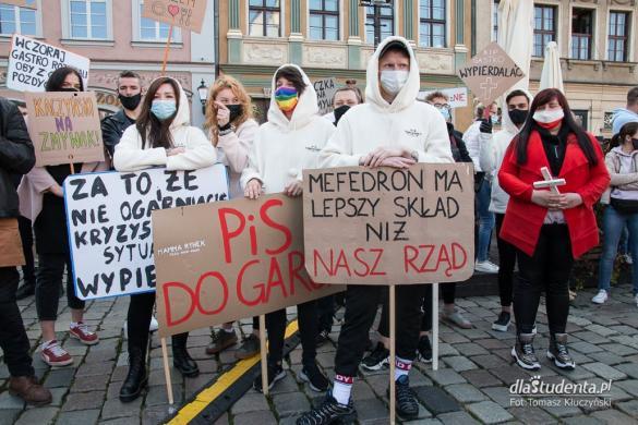 Protest branży gastronomicznej w Poznaniu