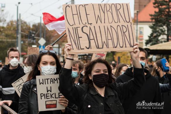 Strajk Kobiet: Studencki protest we Wrocławiu