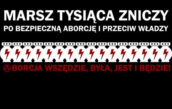 Strajk Kobiet: Marsz tysiąca zniczy we Wrocławiu