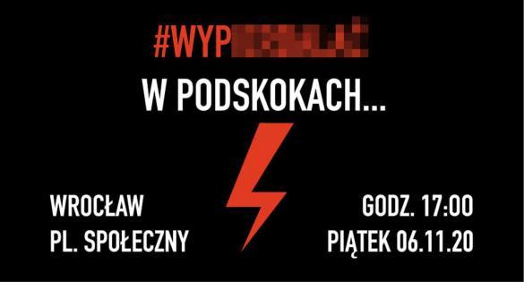 Strajk Kobiet: Spacer we Wrocławiu