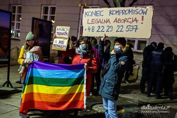 Strajk Kobiet: Weekendowy spacer po Warszawie