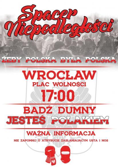Spacer Niepodległości we Wrocławiu