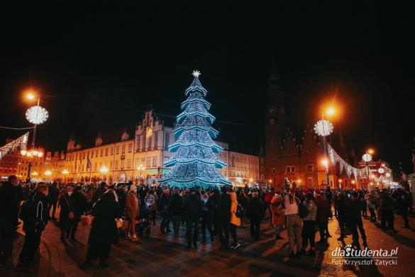 Iluminacje świąteczne we Wrocławiu