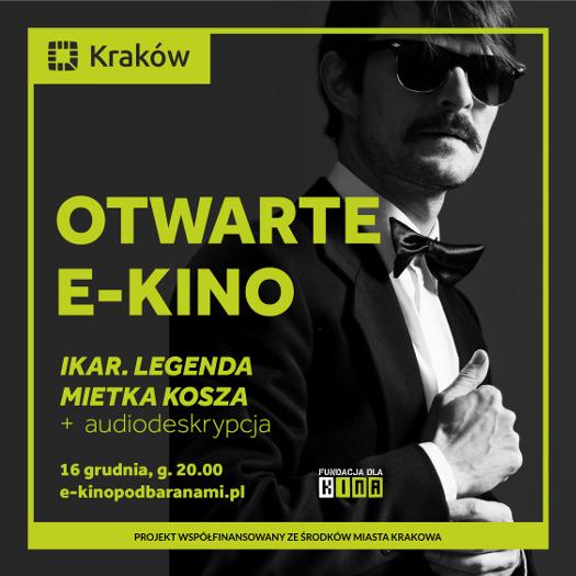 Ikar. Legenda Mietka Kosza - wirtualny pokaz z audiodeskrypcją