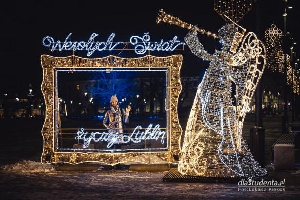 Iluminacje świąteczne w Lublinie