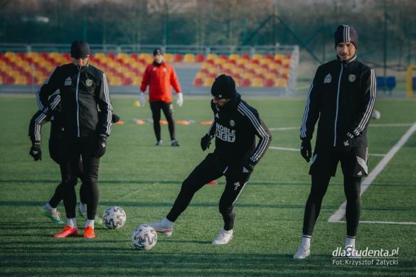 Śląsk Wrocław: piłkarze trenują przed rundą wiosenną