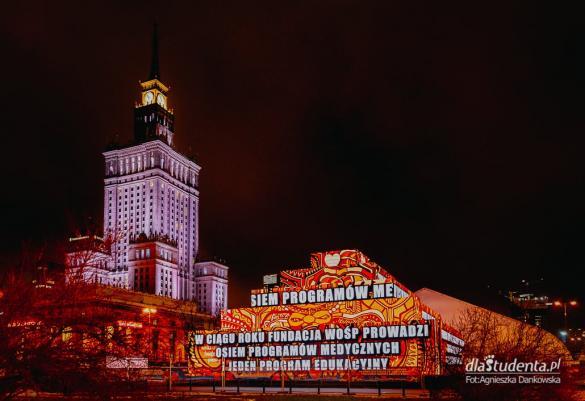 Budowa studia 29. Finału WOŚP w Warszawie