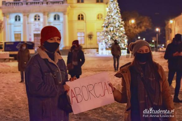 Strajk Kobiet 2021: Spontaniczny spacer w Lublinie