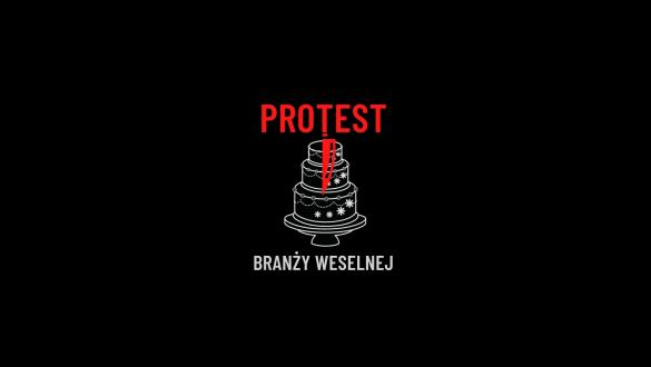Protest branży weselnej