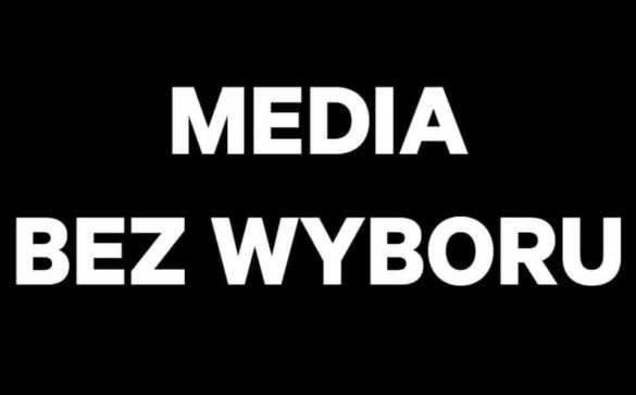 Solidarnie z mediami - protest w Warszawie