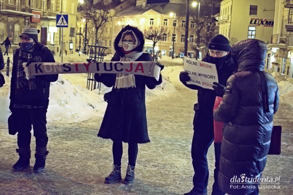 Wolne Media, wolni ludzie - manifestacja w Lublinie