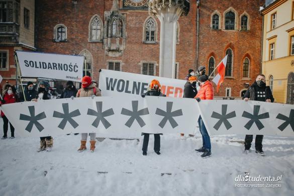 Wolne Media - Wolni Ludzie - manifestacja we Wrocławiu
