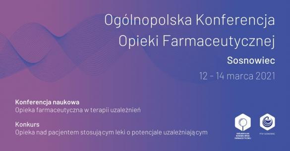 Ogólnopolski Konkurs Opieki Farmaceutycznej 2021