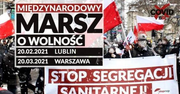 Marsz o Wolność - manifestacja w Lublinie