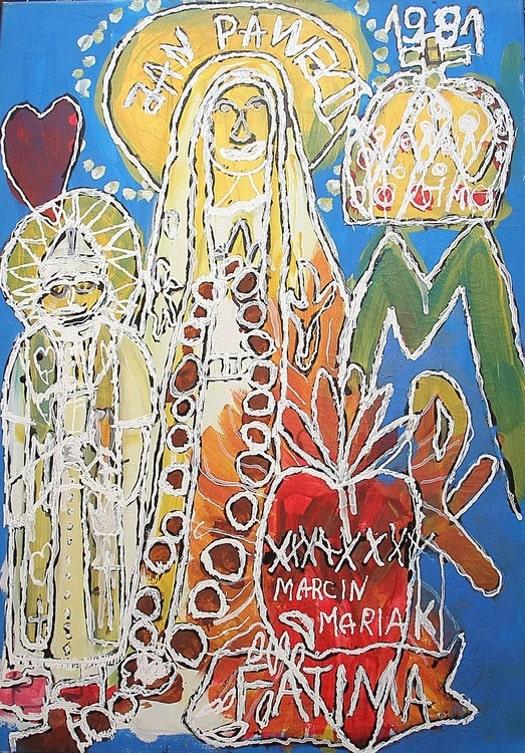 Objawienie. Marcin Mariak - malarstwo, rzeźba