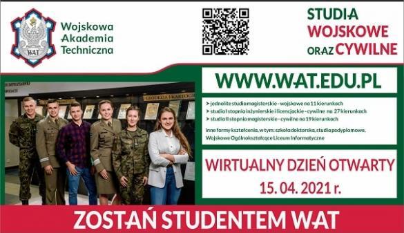 Wojskowa Akademia Techniczna - wirtualny dzień otwarty 2021