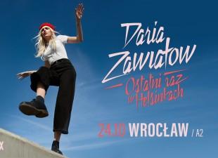 Daria Zawiałow - ostatni raz w Helsinkach
