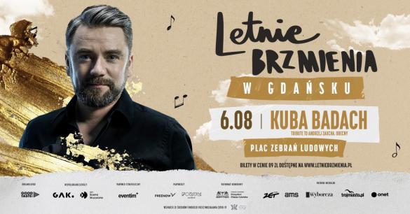 """Letnie brzmienia: LKuba Badach - koncert """"Tribute to Andrzej Zaucha. Obecny"""""""