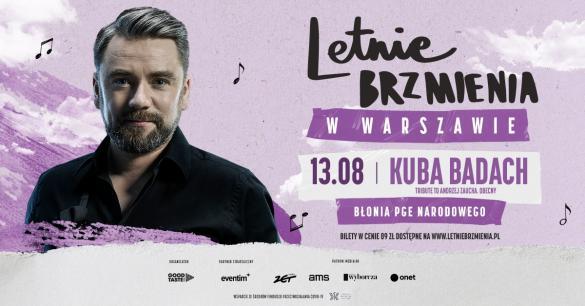 Letnie Brzmienia: Kuba Badach - Tribute to Andrzej Zaucha